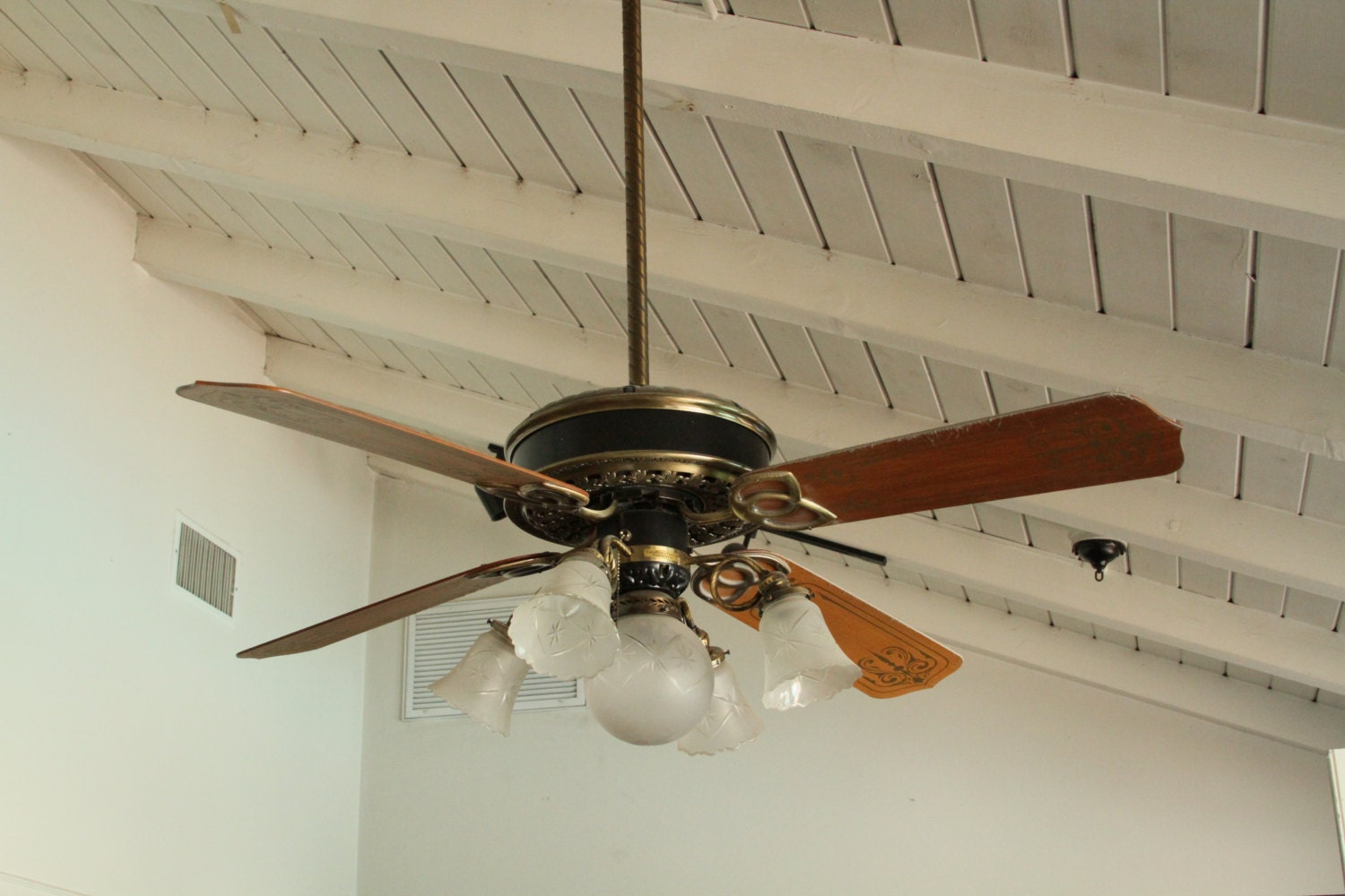 1970s Ceiling Fan : Unavailable listing on etsy