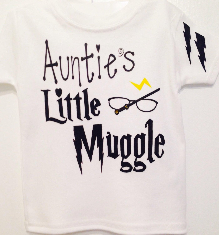 Aunties Little Muggle Harry baby bodysuit Little muggle baby one piece bodysuit baby girl muggle muggle born baby girl