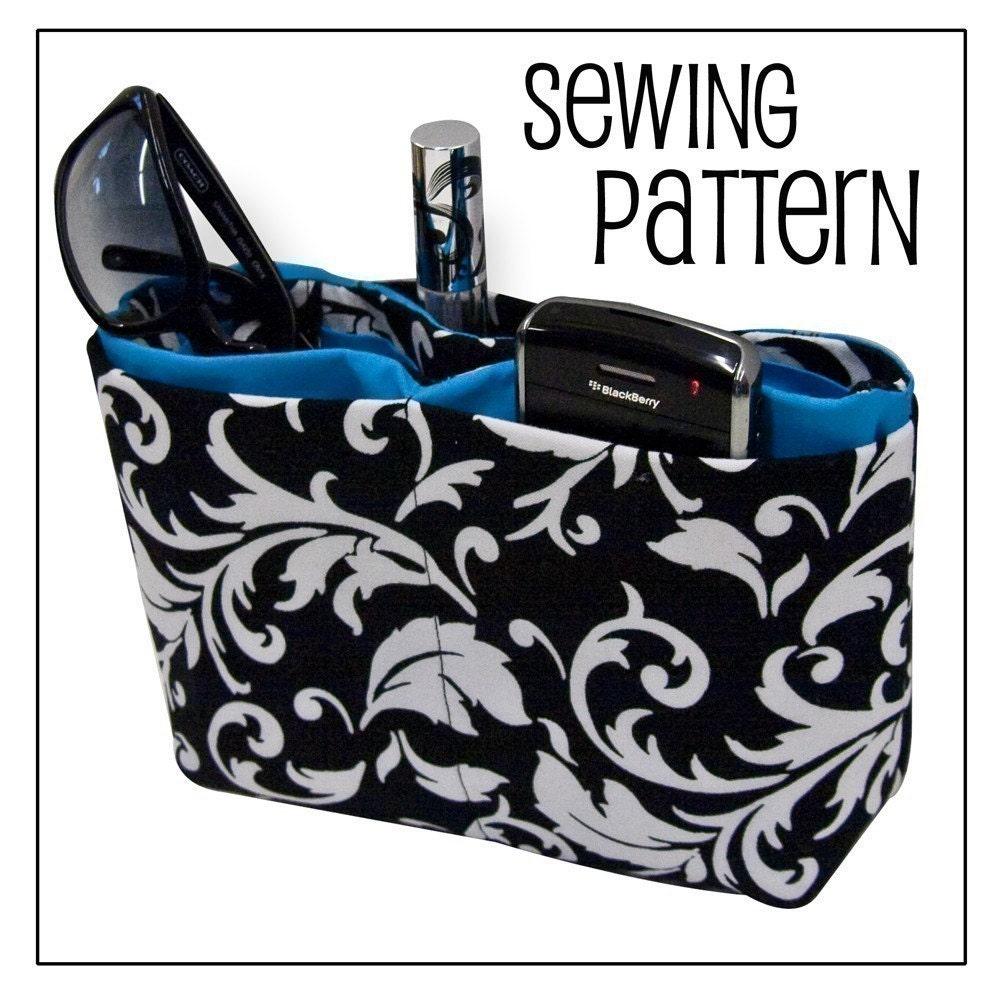 Free Crochet Pattern Purse Organizer : Purse Organizer PDF Sewing Pattern by The by thecrochetdiva