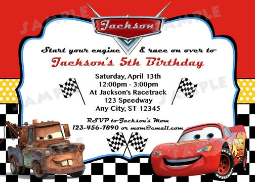 disney cars birthday invitations free 28 images invite disney