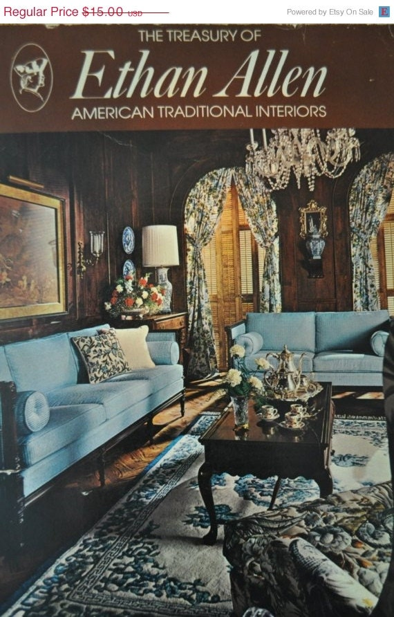ON SALE vintage Ethan Allen furniture 1974 catalog
