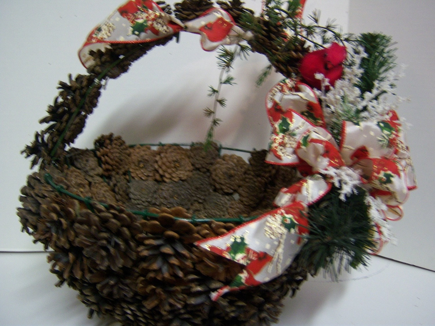 Items similar to sale extra large pine cone holiday hearth for Large christmas pine cones