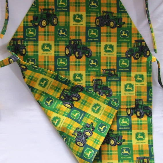 John Deere Childs Full Apron