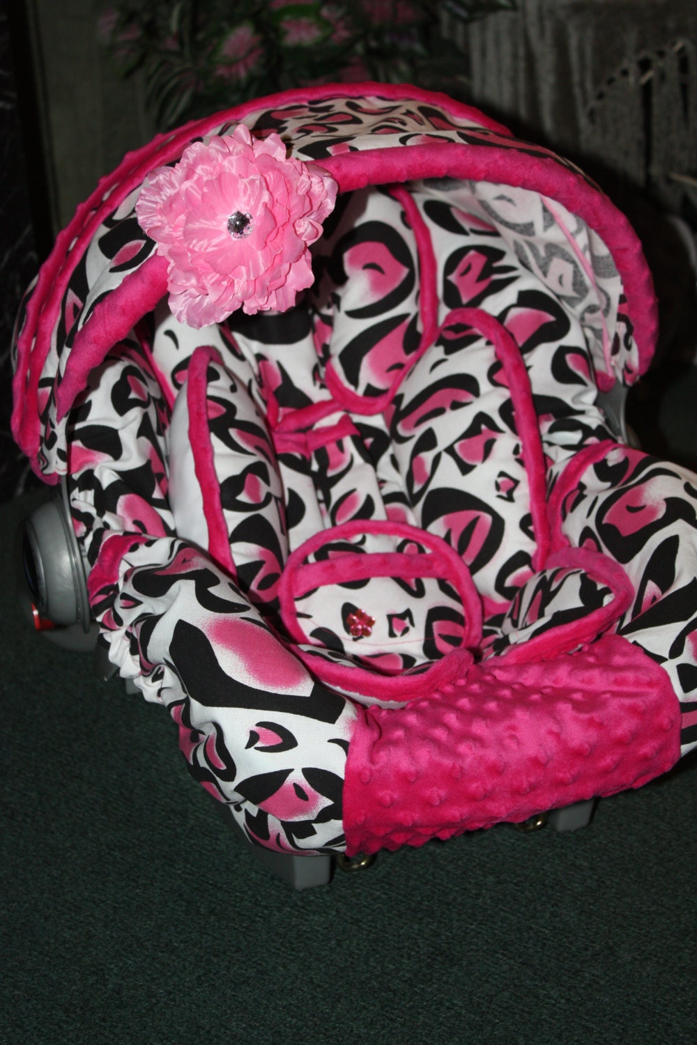 Cheetah Baby Car Seat Covers