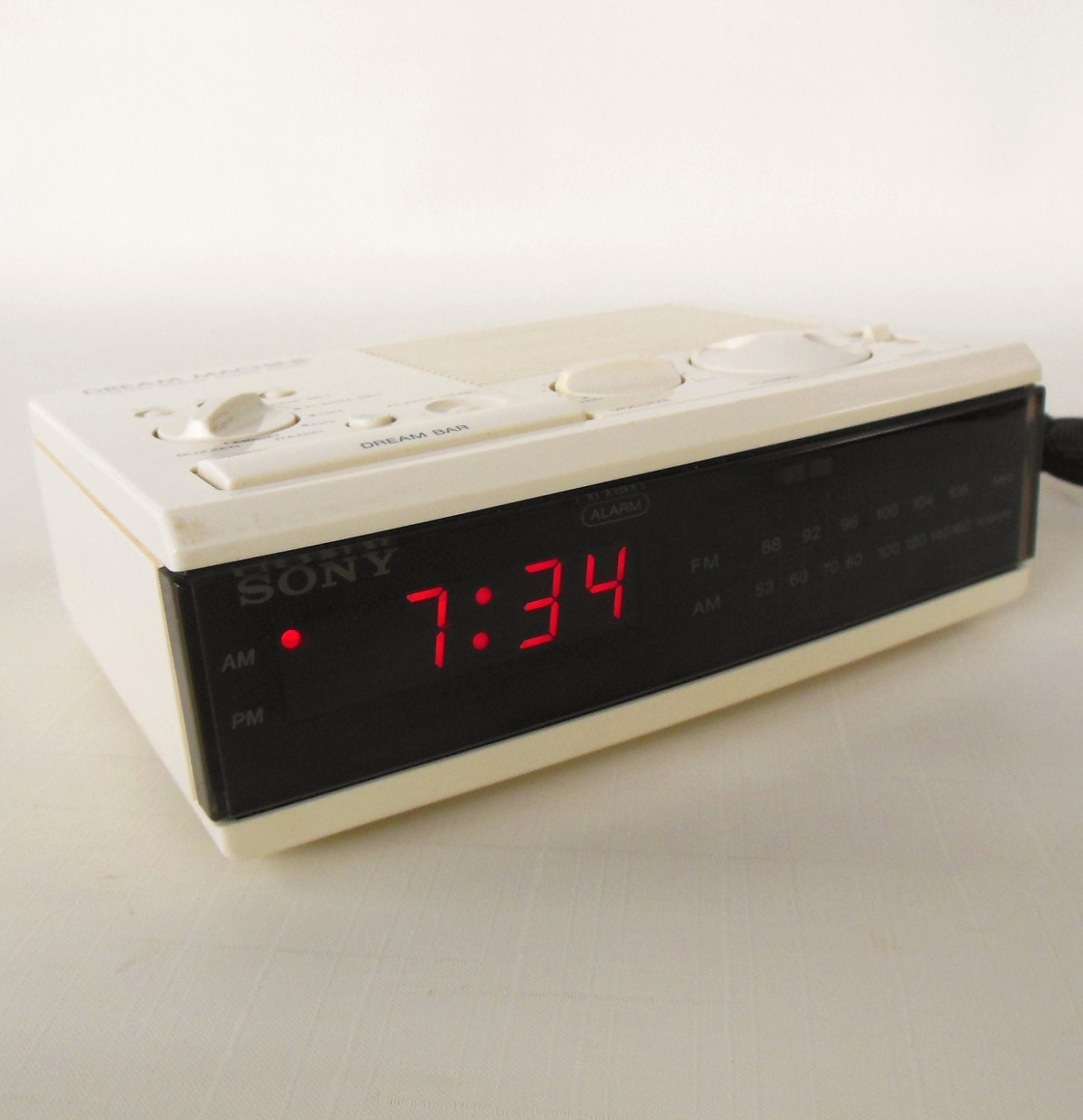 sony dream machine alarm clock radio icf c3w by lauraslastditch. Black Bedroom Furniture Sets. Home Design Ideas