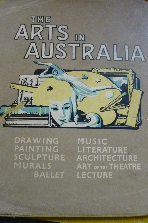 1948 Arts in Australia Book - Vintage Book - 1940s Australian Arts - pinkneonvintage