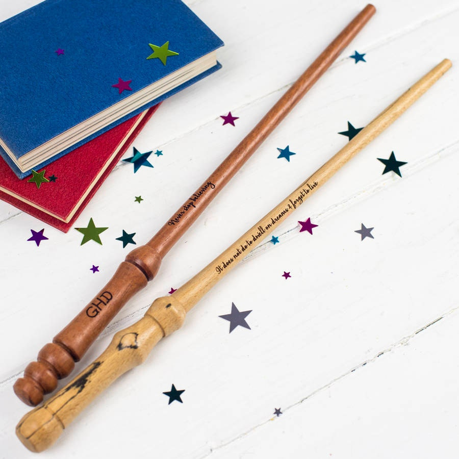 Personalised Wand  Personalized Wand  Magic Gift  Harry Potter Wand  Gift for Harry Potter Fan  Gifts for the Kids