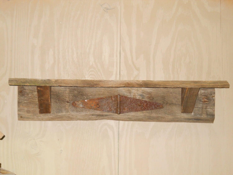 Barn wood shelf rustic by
