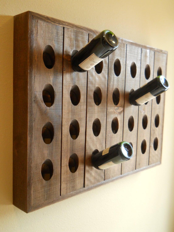 French Riddling Rack, Wine Rack, Riddling Rack, 28 Bottle Riddling Rack