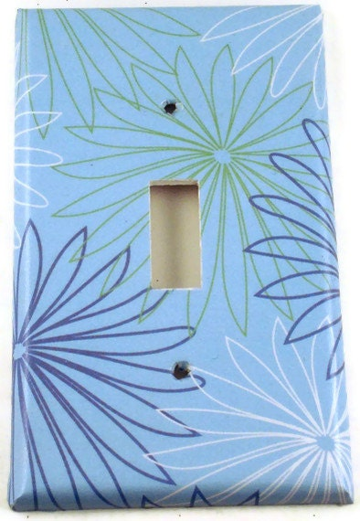 Decorative Wall Light Covers : Light switch cover wall decor plate by