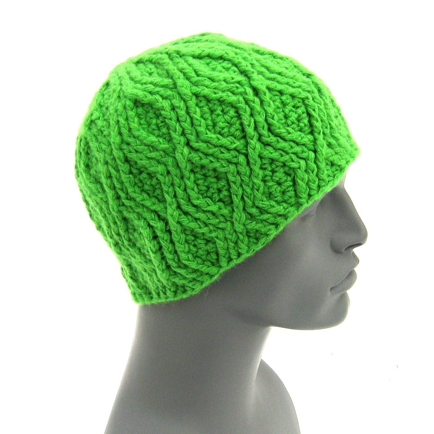 The Nested Diamond Beanie - CROCHET PATTERN
