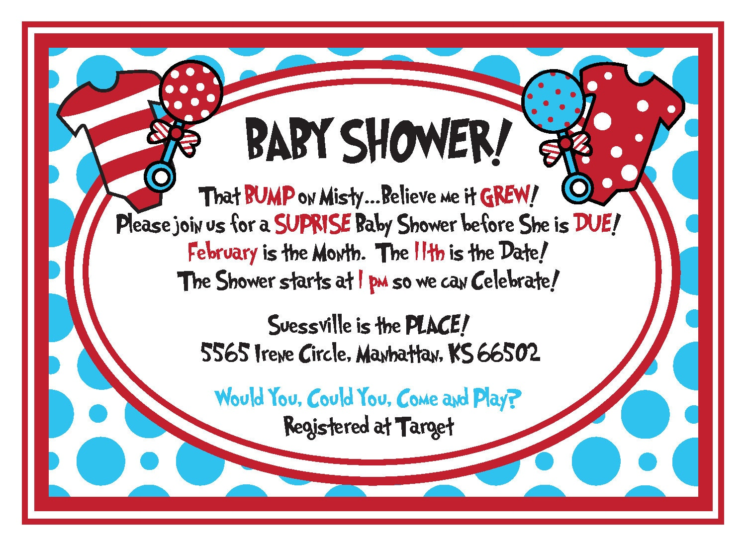 free printable dr seuss baby shower invitations