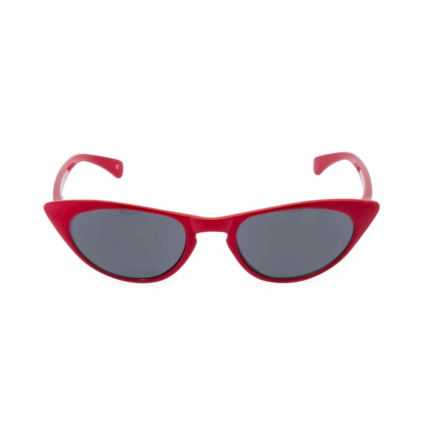 1950s 60s style CAT EYE sunglasses or sun readers NEW made to original vintage design Peggy Rockabilly Lipstick Red