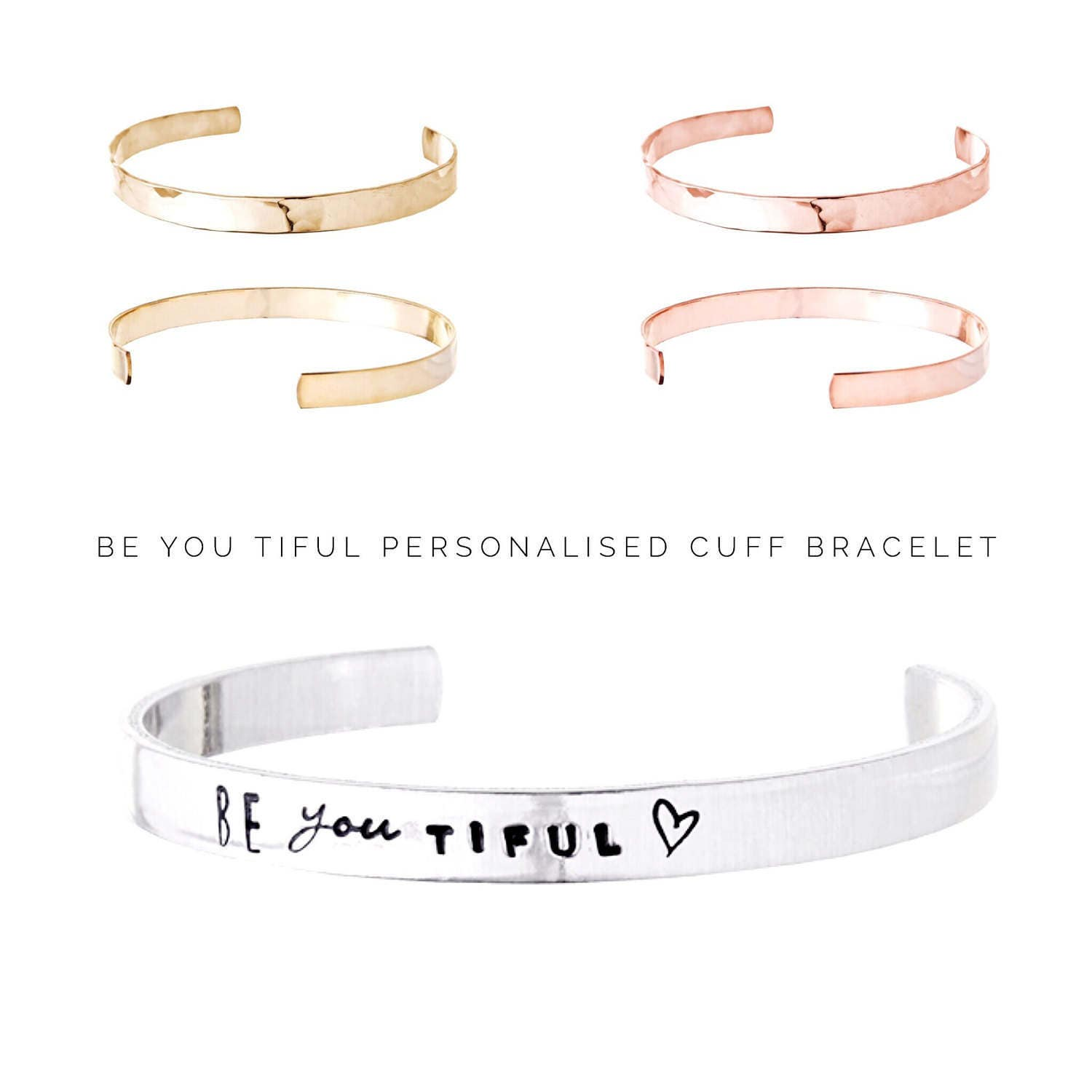 Womens gift  Personalized jewelry  Be you tiful  Personalized Bracelet  Gift ideas for her  Gifts for friends (C176)