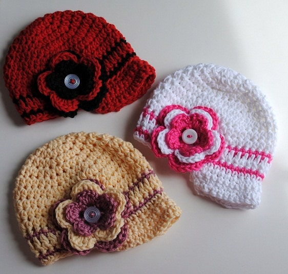 Baby Hat Flash SALE Baby Beanie with Interchangeable by ...