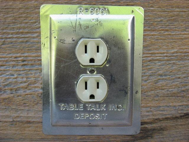 Vintage outlet cover