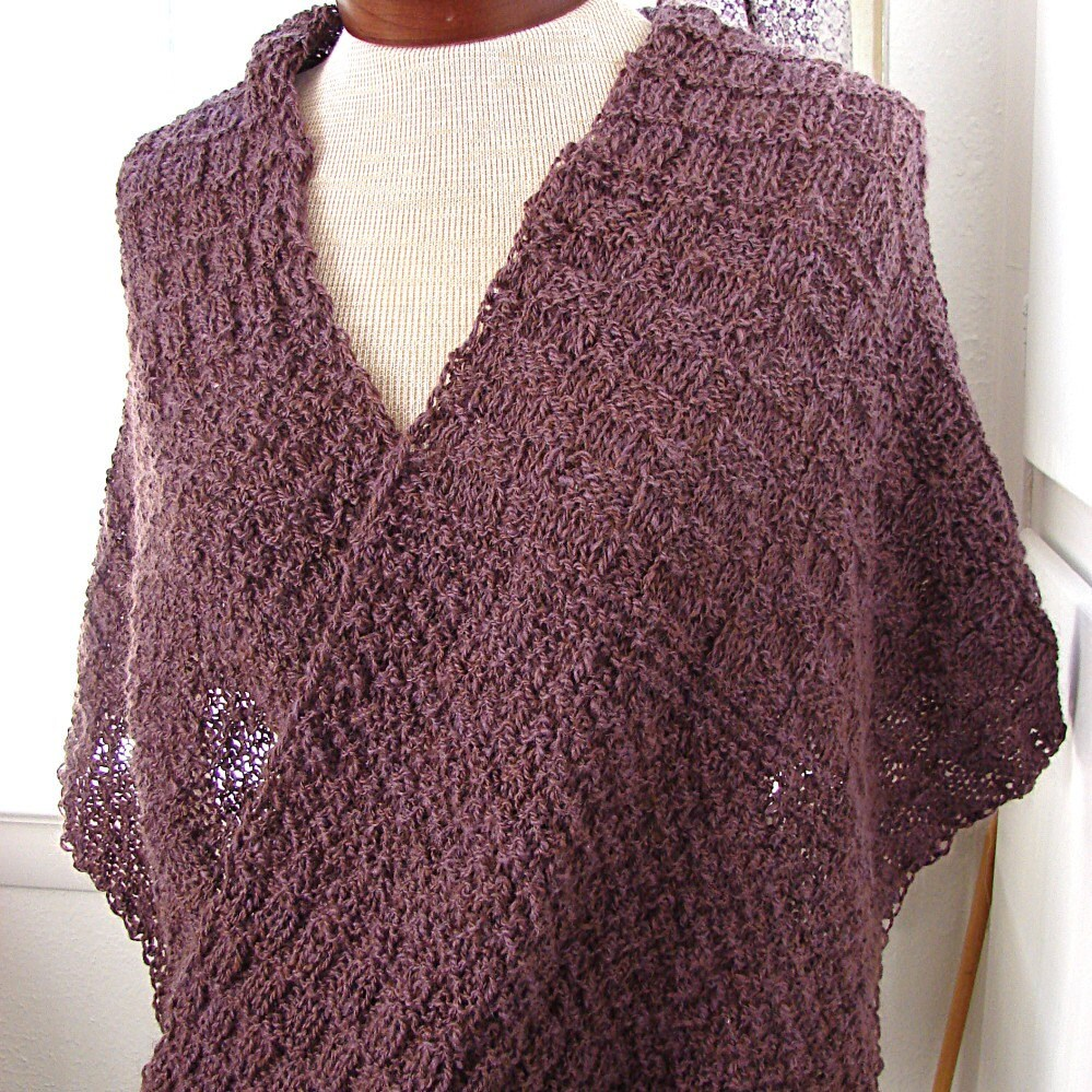 Pattern for Mobius Shawl and Scarf by TerrificCreations on Etsy