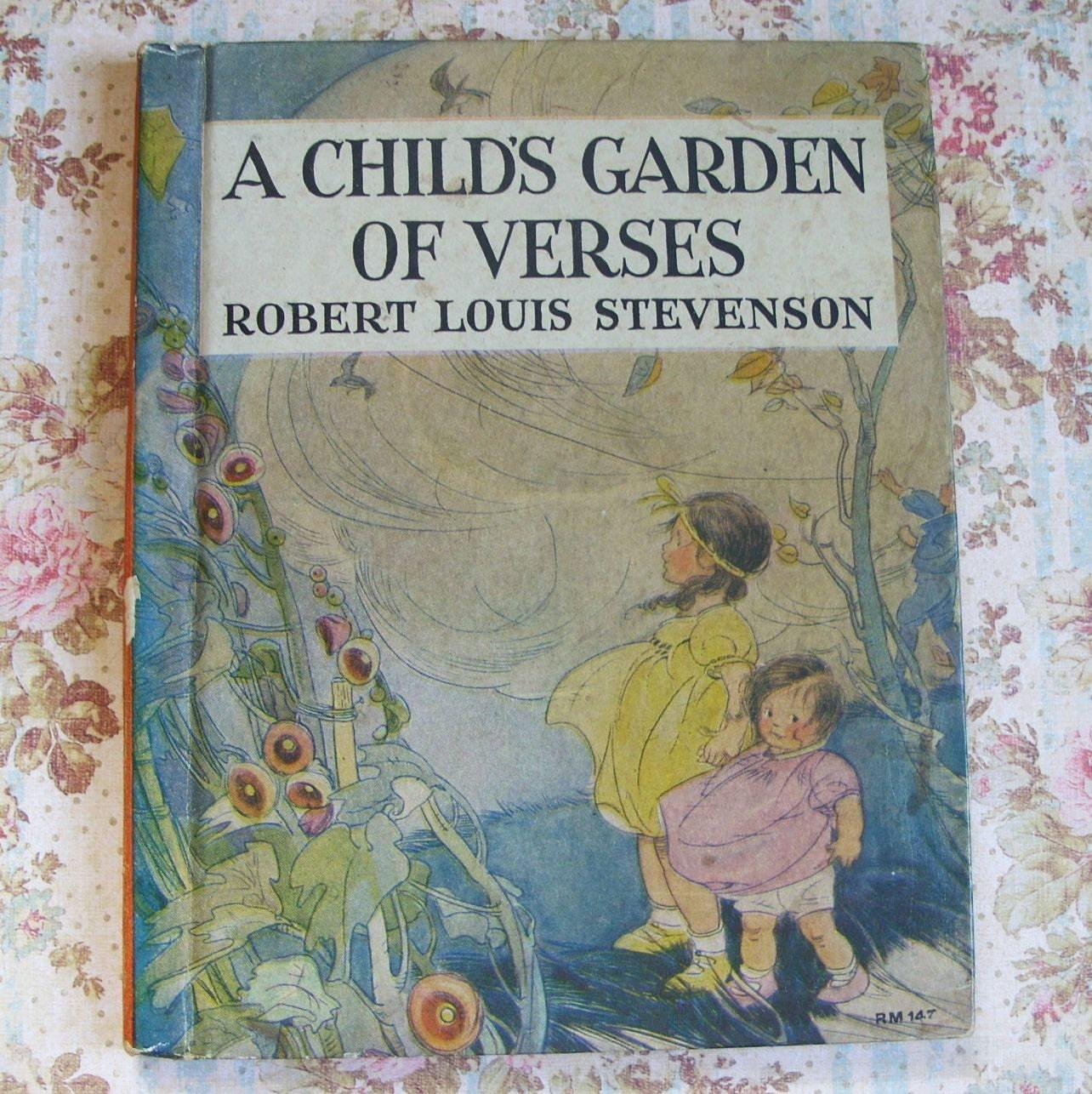 1934 A Child 39 S Garden Of Verses Robert Louis By Tinselandtrinkets