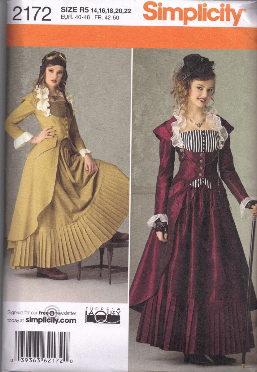 Amazon.com: 1860's Ball Gown Skirt Pattern: Everything Else