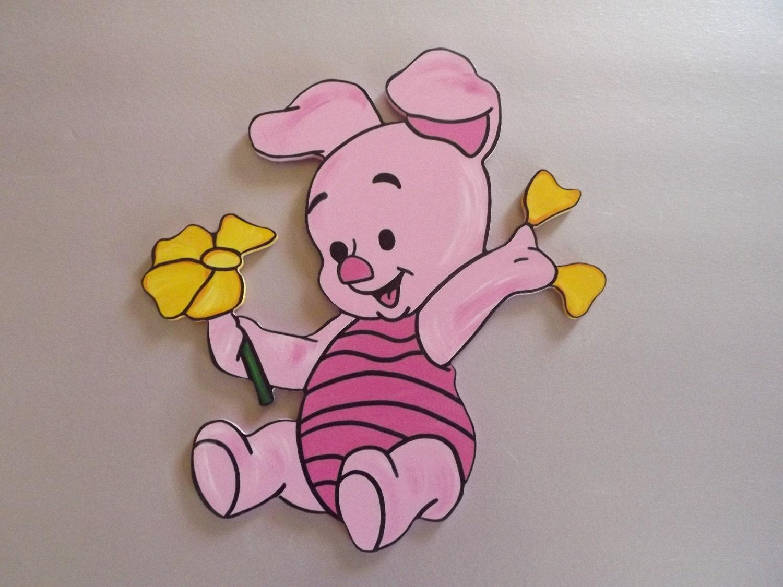 Items Similar To Handpainted Disney Baby Winnie The Pooh