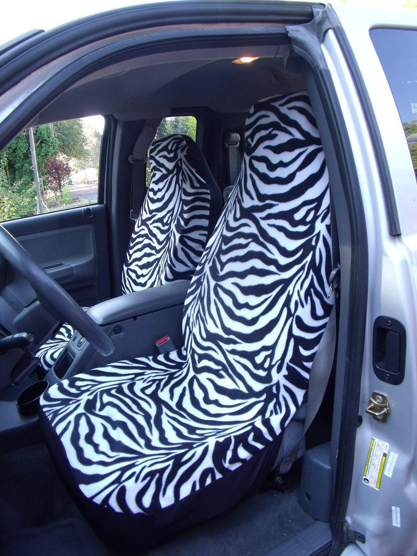 1 Set Zebra Print Custom Made Car Seat Covers By ChaiLinSews