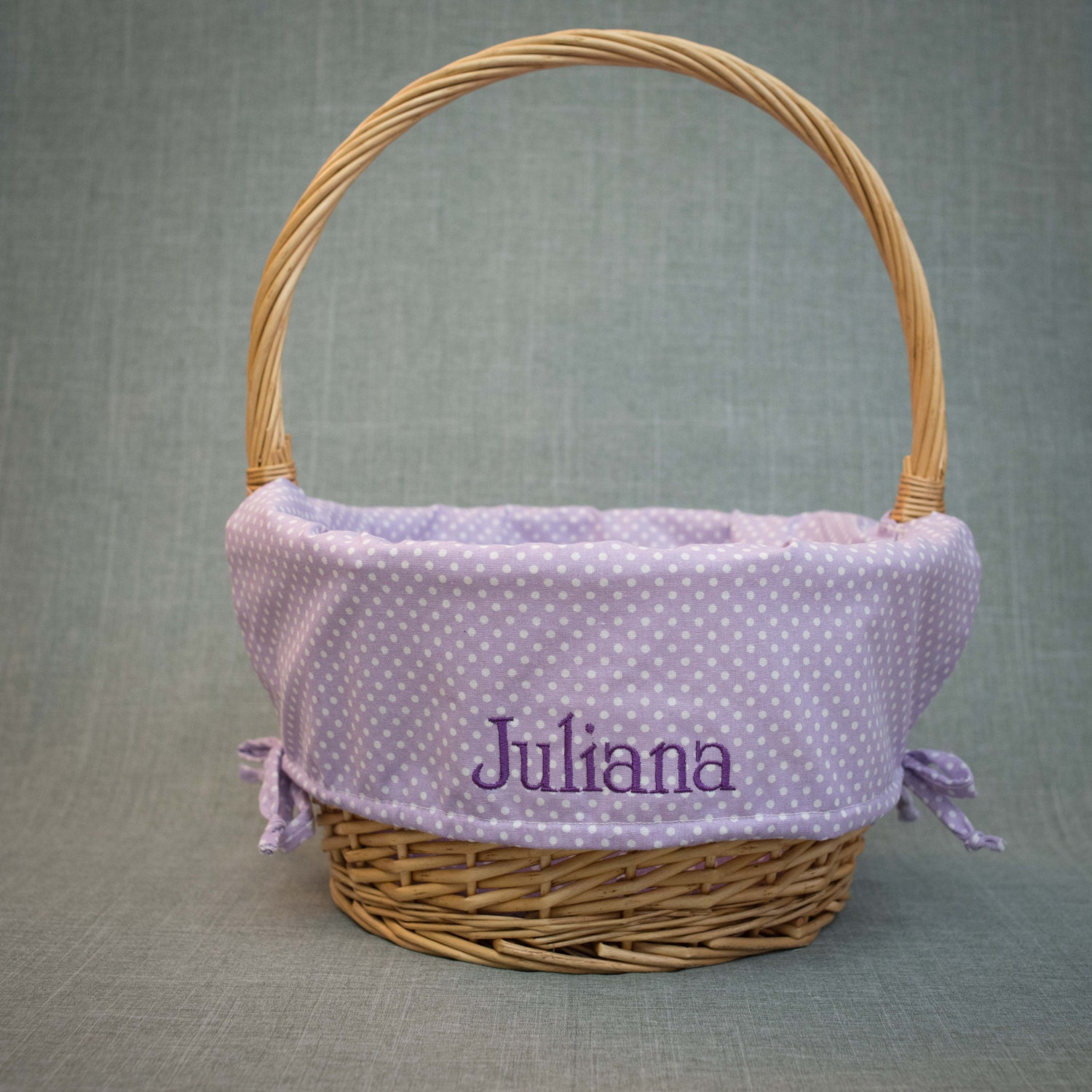 Three 3 Easter Basket Liners Personalized With By Brandnoonan