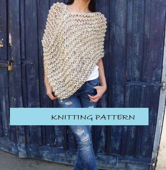 Knit Capelet Pattern Image Collections Knitting Patterns Free Download