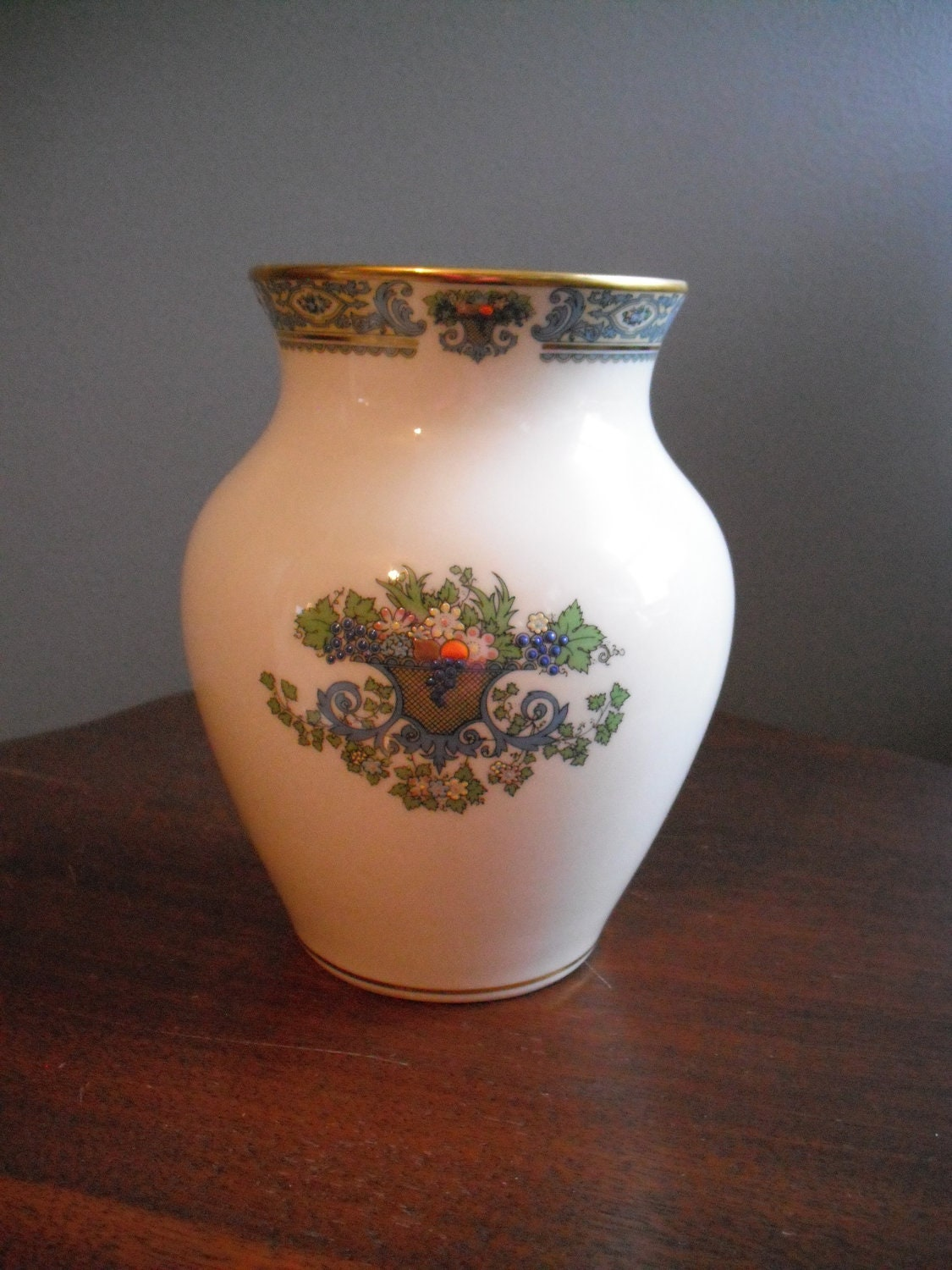 Retired Lenox AUTUMN vase by SERENDIPITY326 on Etsy