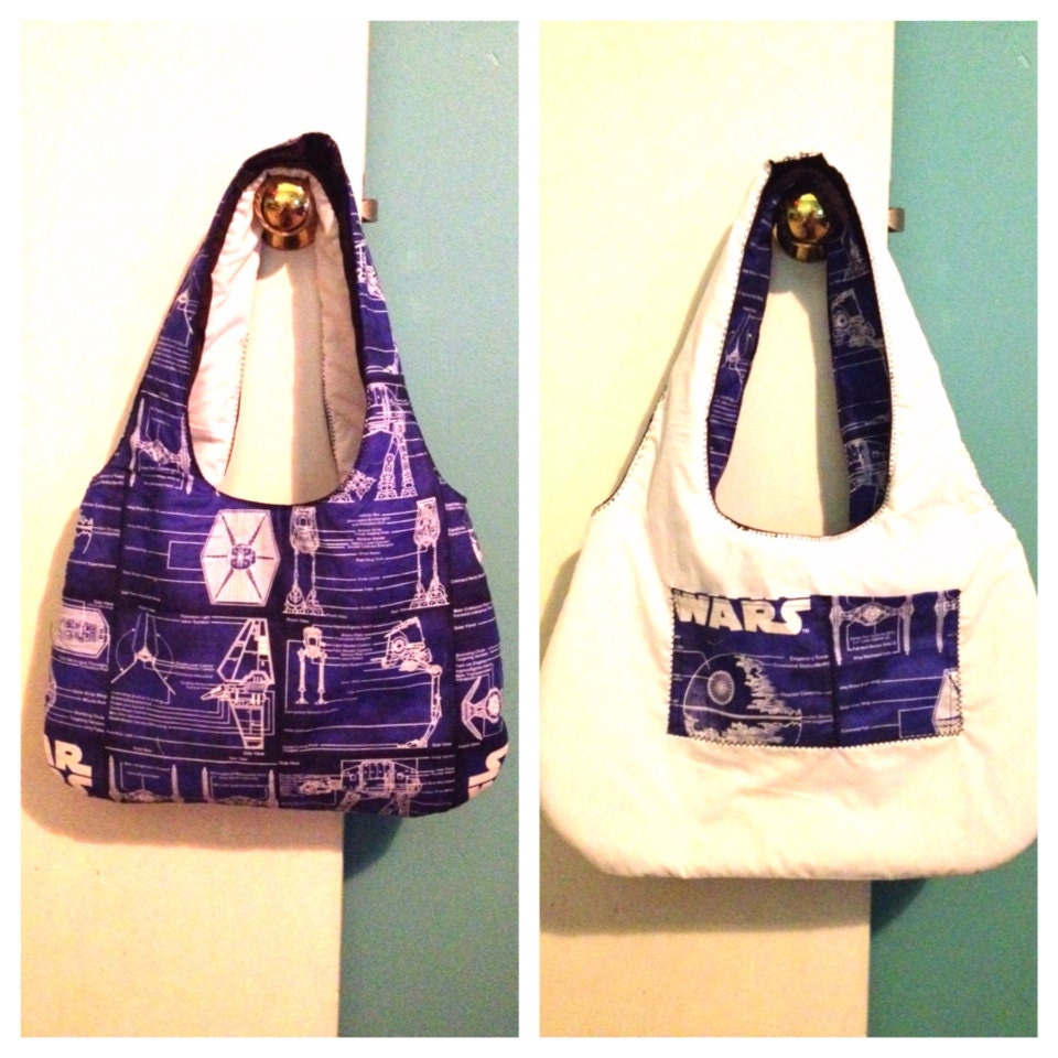 Star Wars Purse - Reversible, fully padded