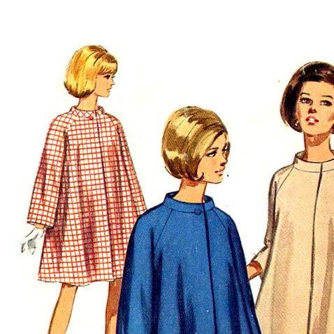 Swingy 1960 mod coats to