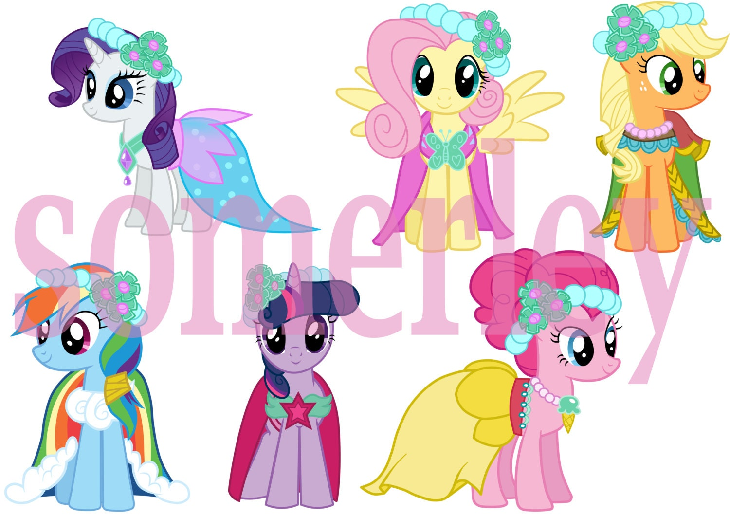 Royal Wedding Sticker Dress Up : Stickers my little pony royal canterlot wedding by somerley
