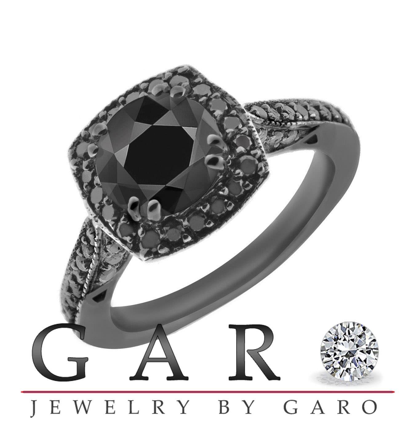 Black diamond engagement rings blue diamond engagement rings cartier