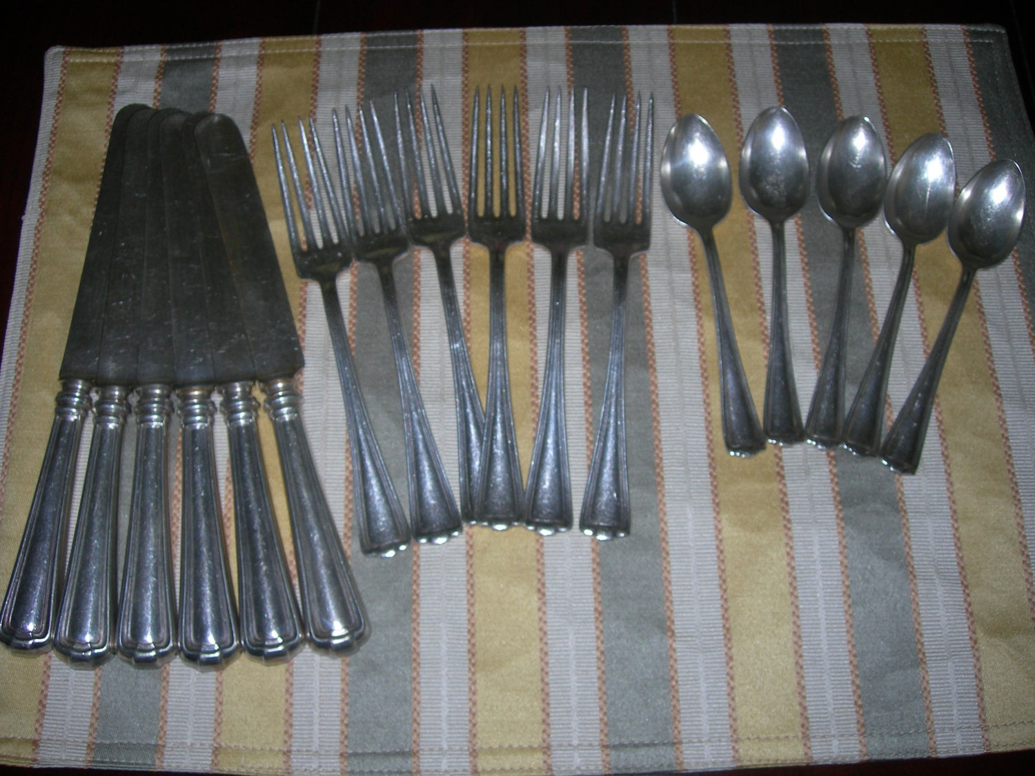 1847 Rogers Bros SilverPlate Flatware by DaintyDelights on Etsy