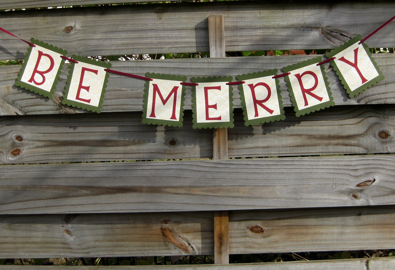 Be Merry - Christmas Banner
