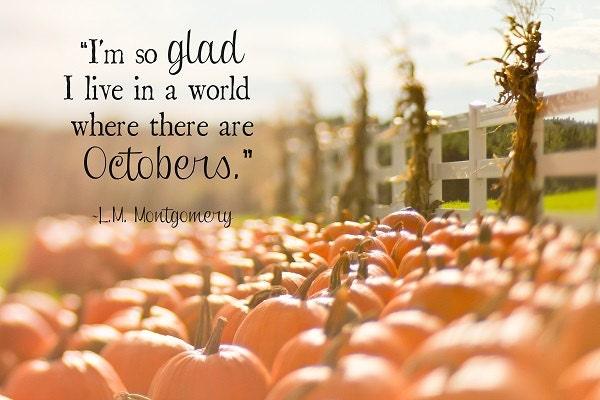 October Decor Pumpkins Cornstalks Orange by - October Decorations