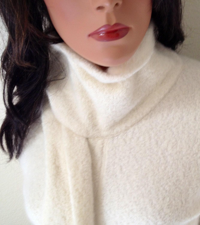 Vintage Angora Sweater Gorgeous Creme Sweater By