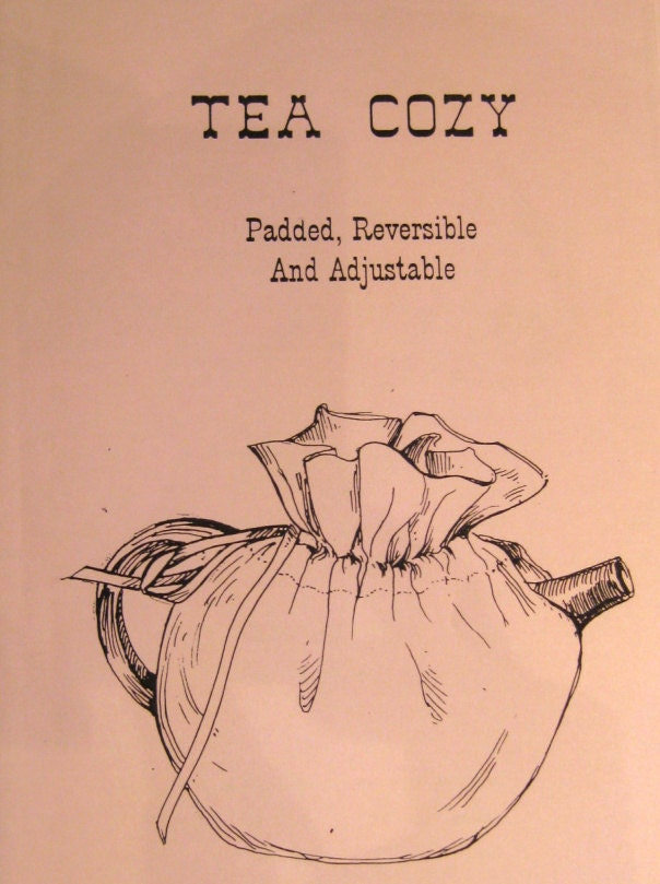 Tea Cozy Pattern As A Pdf File By Timelesscalico On Etsy