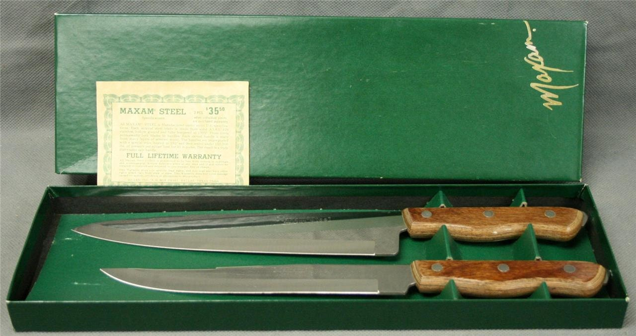 maxam steel knife kitchen and chef set made in by maxam kitchen knives ebay