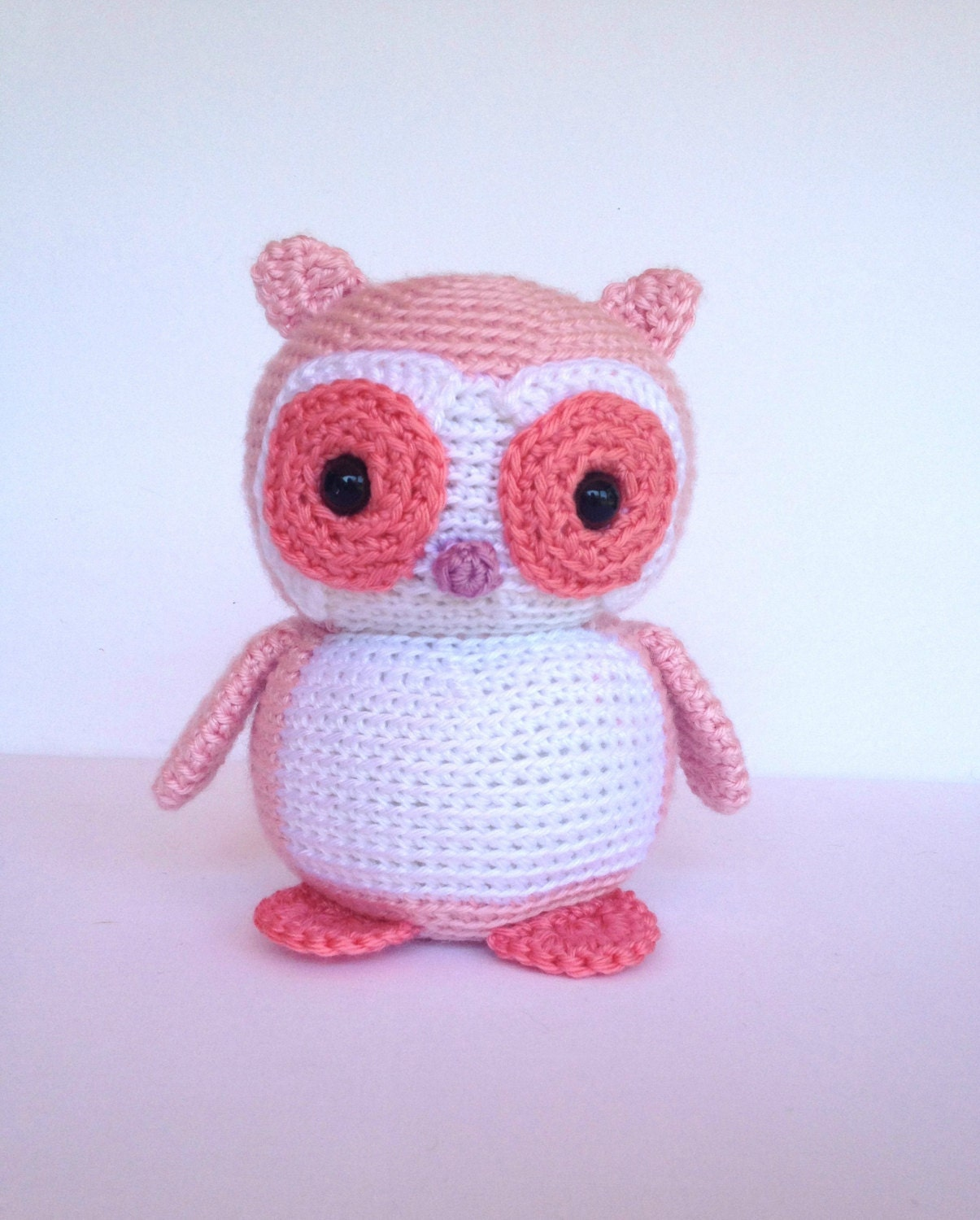 Free Crochet Owl Stuffed Animal Pattern Manet For