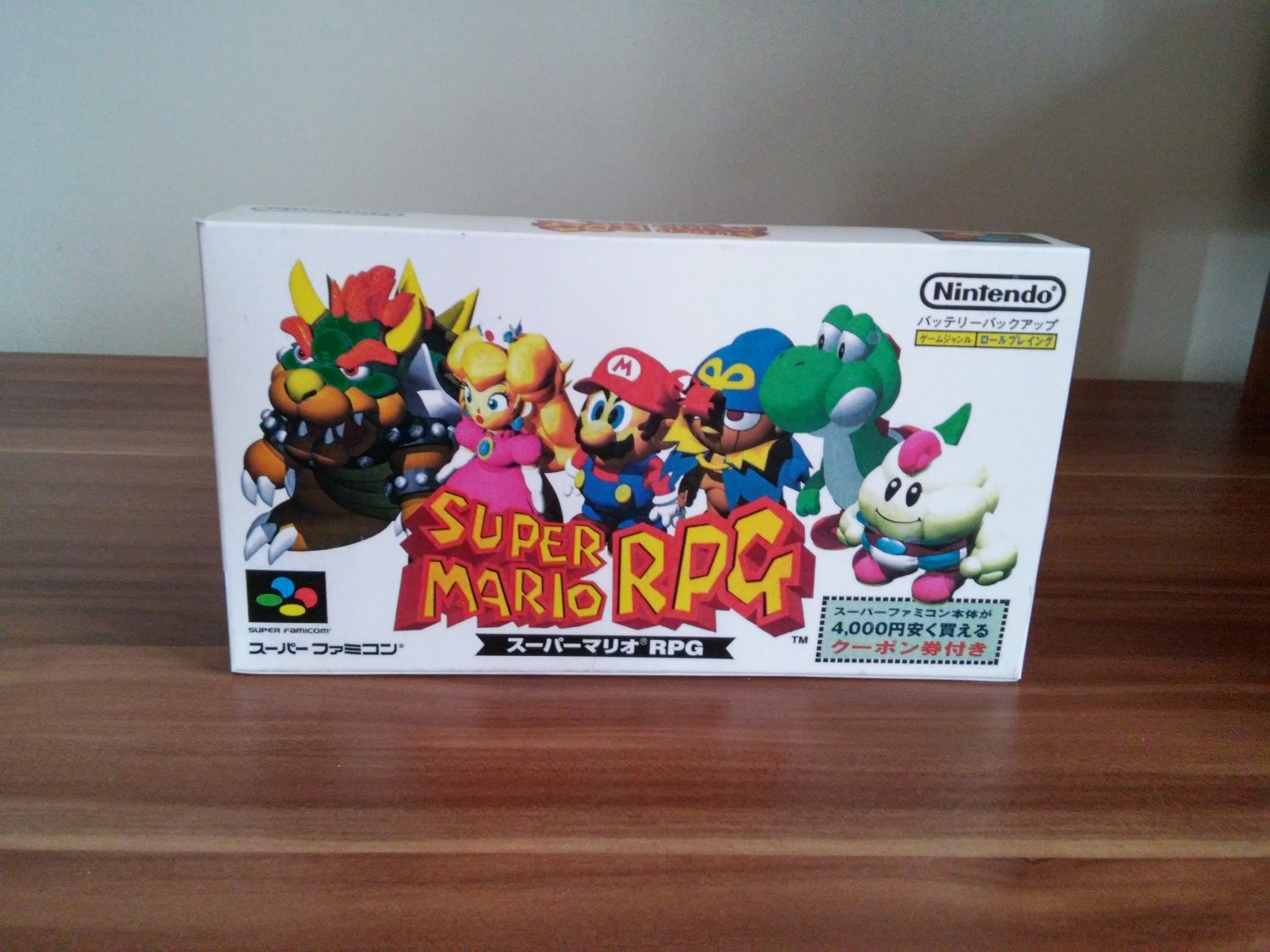 Super Famicom Super Mario RPG  Repo Box NO Game Included