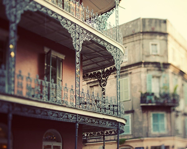 New Orleans Photography Iron Balcony Home By