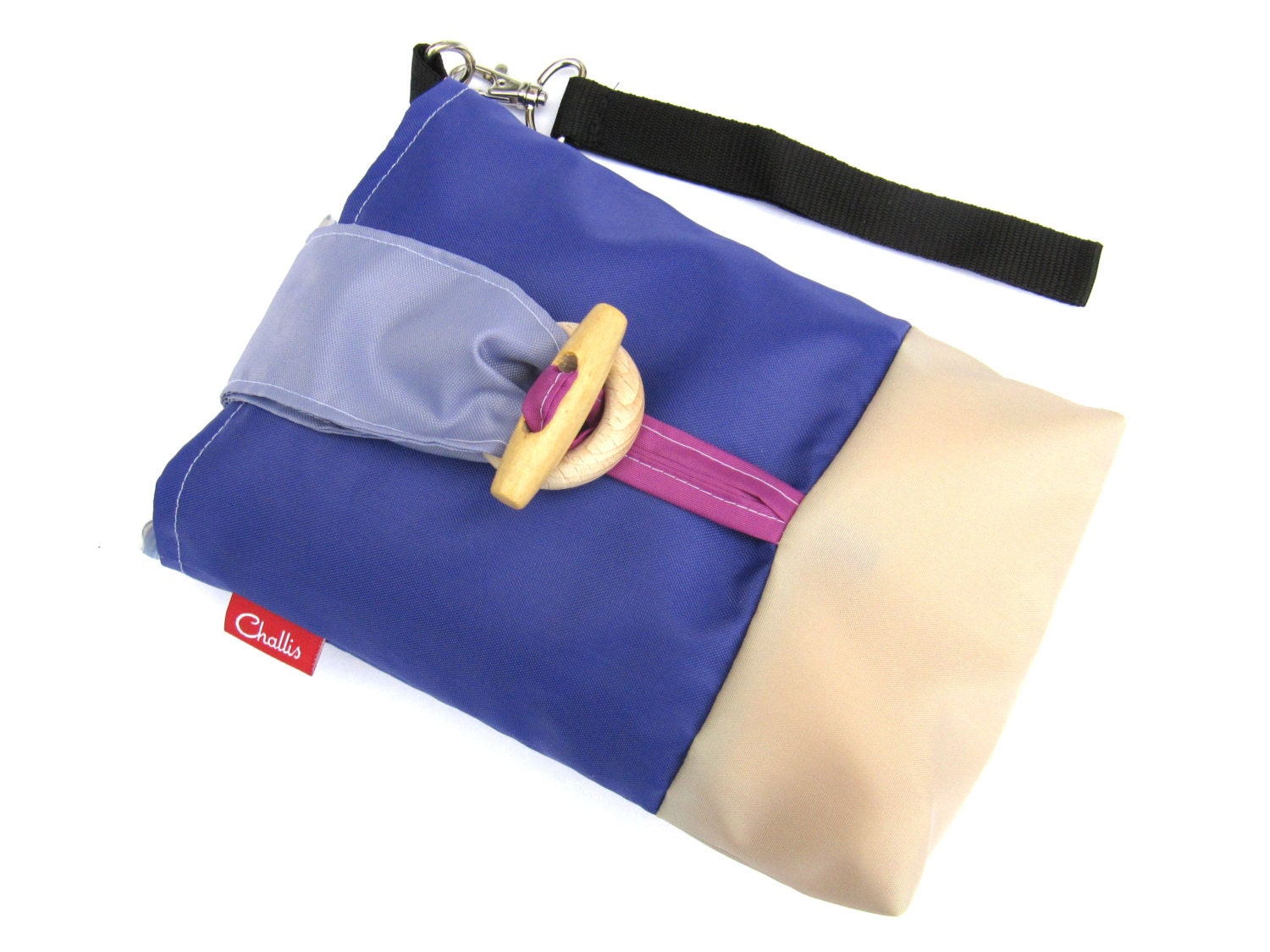 Small Nappy Bag  Diaper Pouch  Baby Changing Bag  Second Time Mum  Baby Boy Gift  New Dad Gift  Yummy Mummy  Nappy Wipes Case