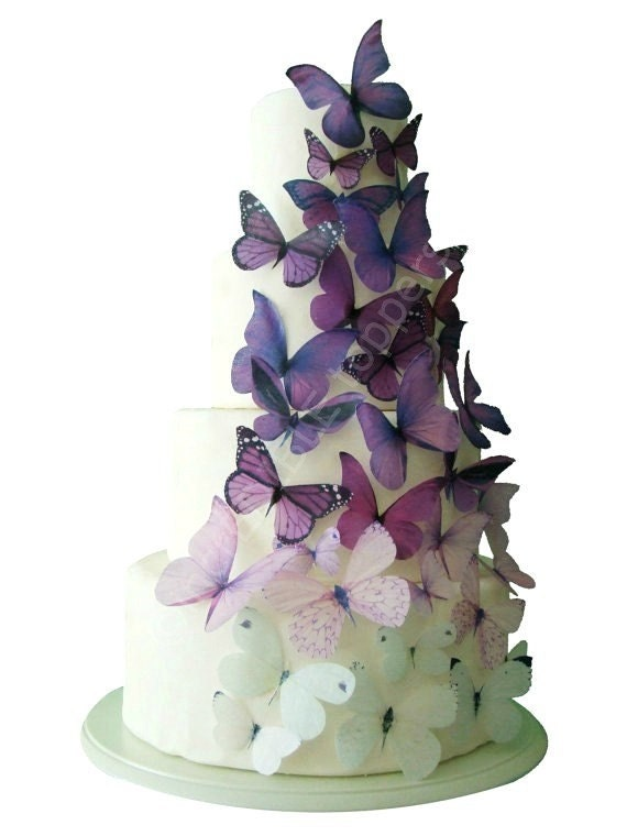Etsy Wedding Cake Decorations : Wedding CAKE TOPPER Edible Cake Topper Ombre by ...