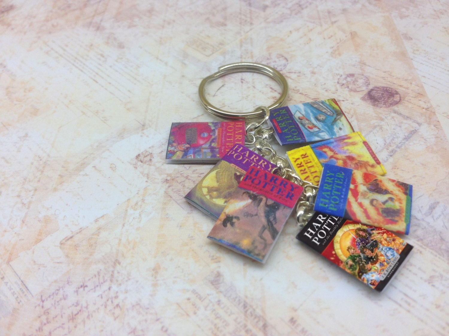 Harry Potter Book Keychain ~ Moved permanently