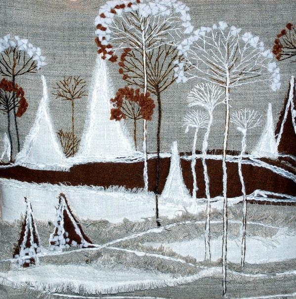 Зимний мир Чехол