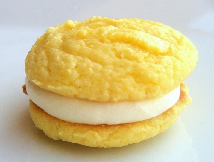 Lovable Lemon Sugar Cookie-Wiches -1/2 Dozen