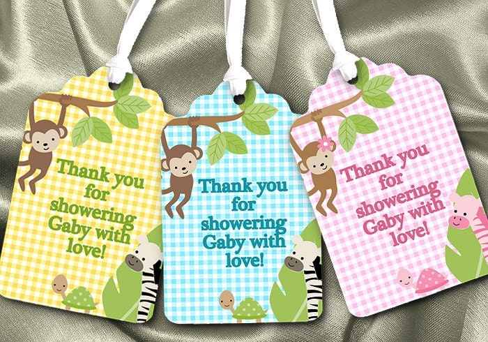 favor tags gift tag baby shower 1st birthday by necessitees