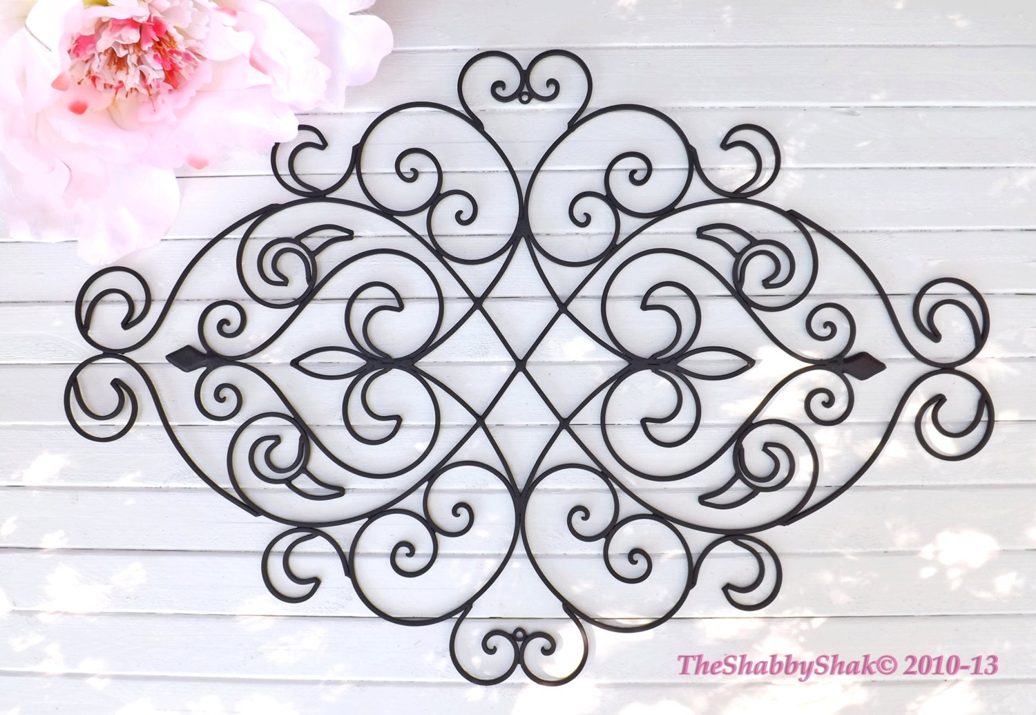 customer appreciation wrought iron wall decor by. Black Bedroom Furniture Sets. Home Design Ideas