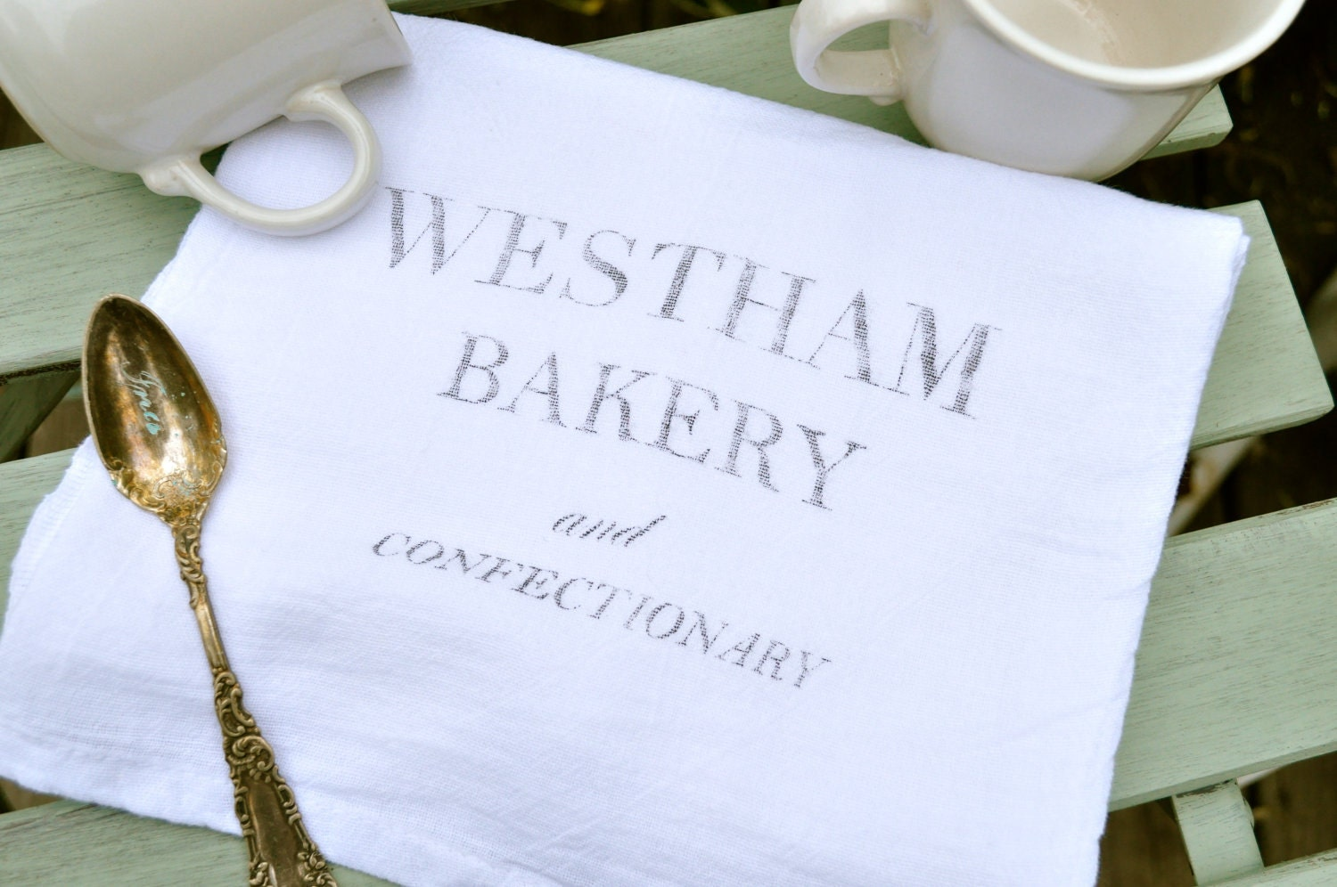 Cotton tea towel- Westham bakery
