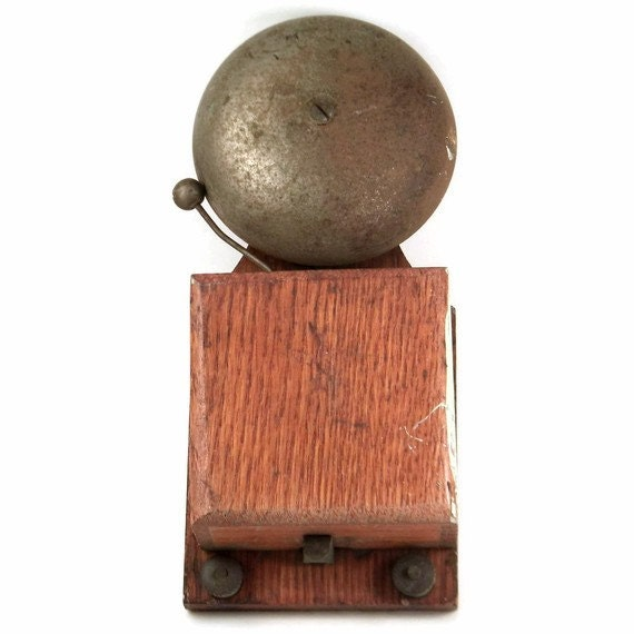 Antique Electric Door Bell By Stuffmuhdadsells On Etsy